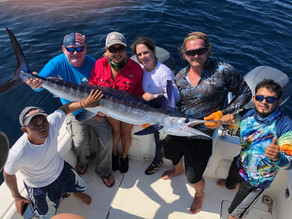 Guatemala's friends fishing Ocean City, MD