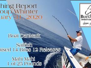 Fishing Report / Boat DanMark