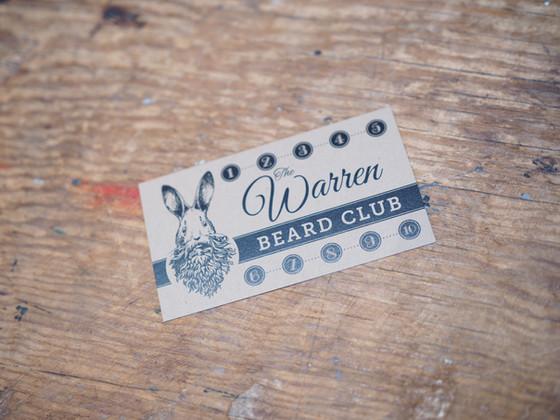 Join The Warren Salon's Beard Club