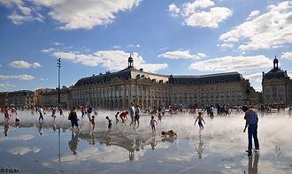 Miroir d'eau in Bordeaux