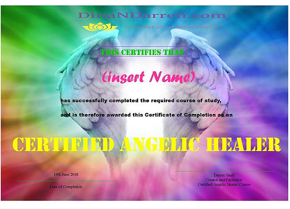 1. Certificate of Completion Angel Heale