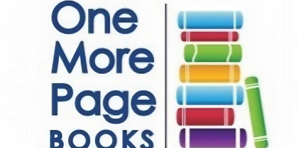 Author Talk & Book Signing - One More Page Books