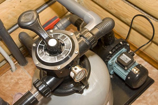 Recycle pool backwash water using pool pump