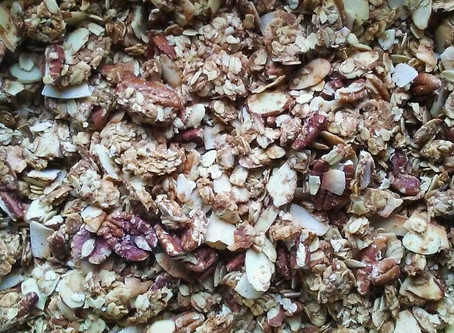 Chai Spiced Granola (Vegan & GF)