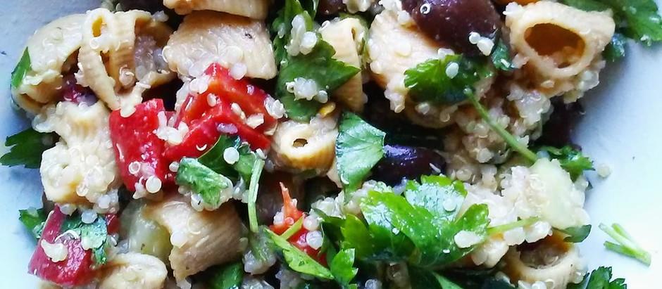 Mediterranean Salad (Vegan, GF)