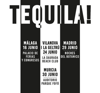 Conciertos Tequila 2017. Nota de prensa