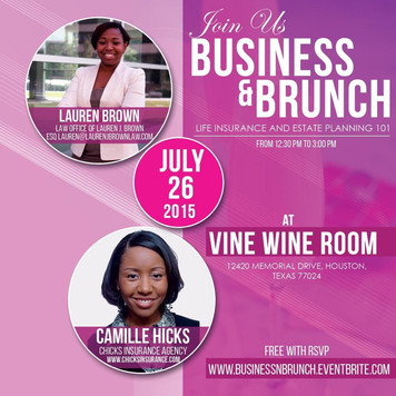 Business & Brunch - Life Insurance and Estate Planning 101