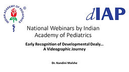 Early Recognition of Developmental Dealy... A Videographic Journey