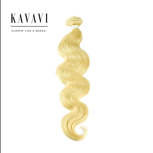 Body weave Blond hair