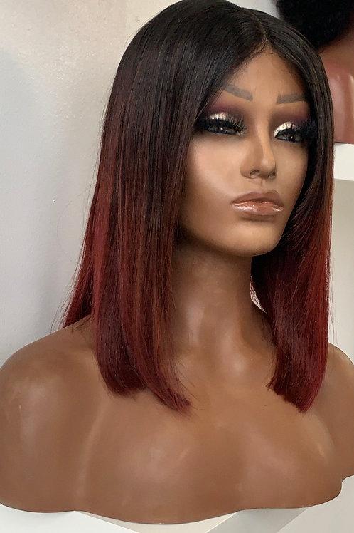 """RyaWig 12"""" closure wig"""