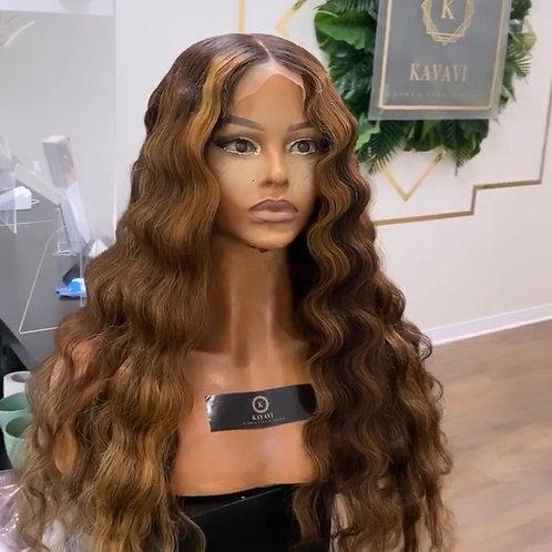 """QueenB wig 24"""" 5x5 closure"""