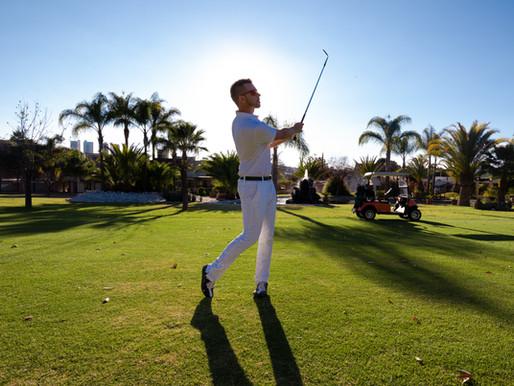 ON THE COURSE GOLF WITH JASON POTTAGE - sesión fotográfica para golfistas