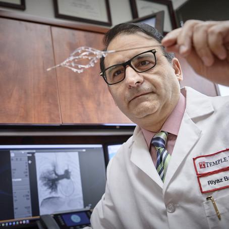 Doctor de Filadelfia inventó una manera de disolver uno de los tipos más peligrosos de coágulos