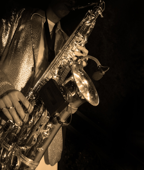 Jazz Saxophone Player