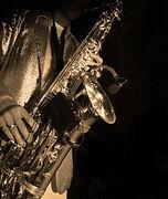 Joueur Jazz Saxophone