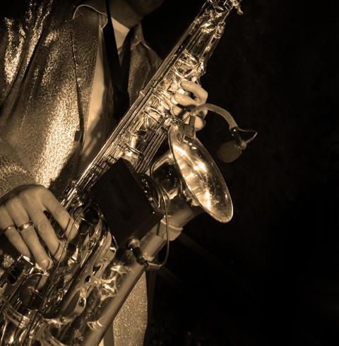 Jazz-Saxophon-Spieler