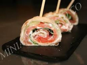 Wraps de saumon