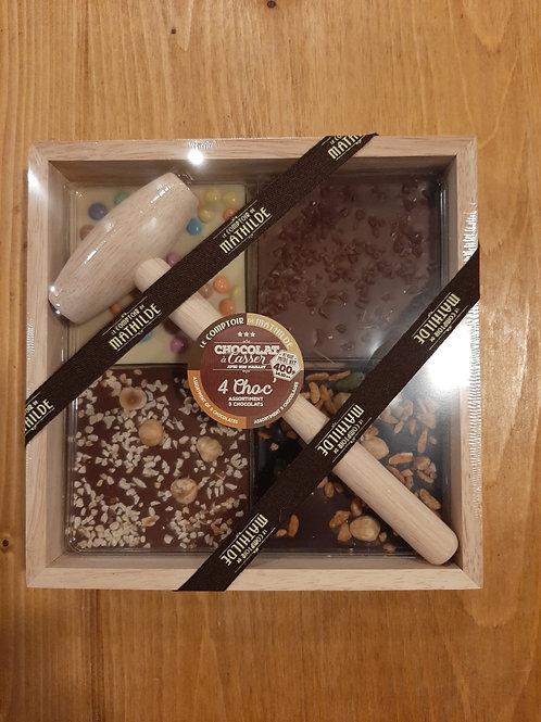 4'choc' assortiment de 3 chocolats