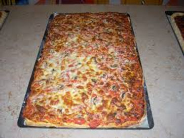 Plaque de pizza (env 50carrés)