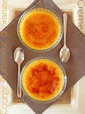 Crème brulée au butternut (chq caution verrine)