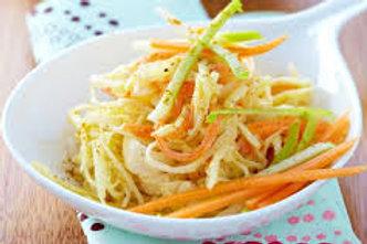 Salade de choux blanc et pomme