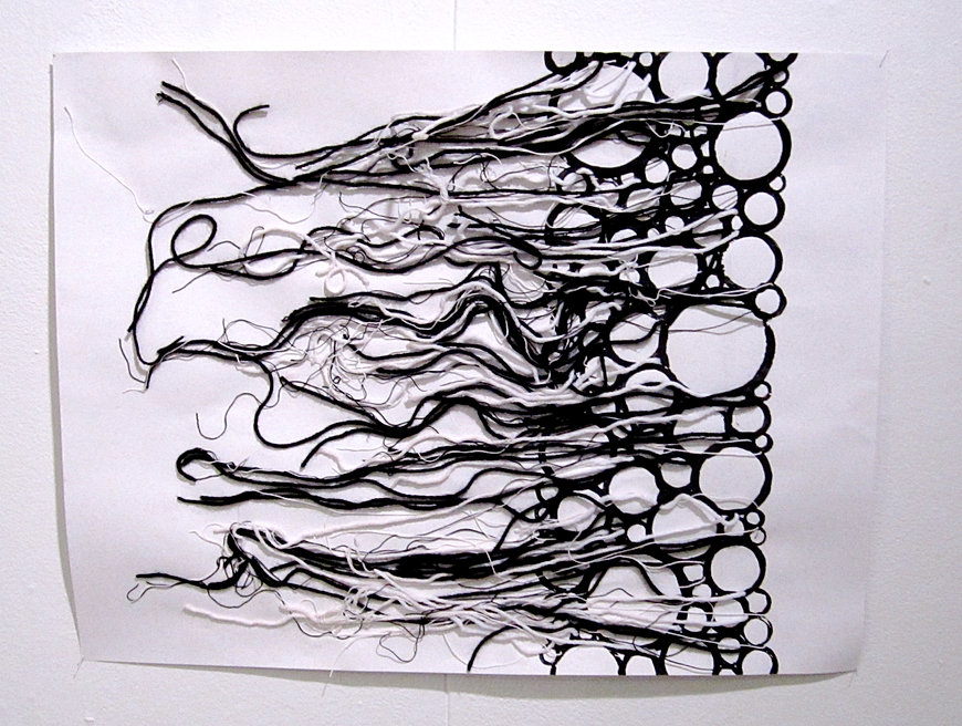 Line Drawing Yarn : Installation artist fort collins colorado chelsea gilmore