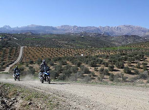 Driving Area Andalusien BMW KTM Motorrad