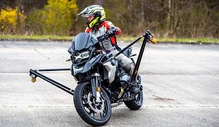 Wingbike Schräglagentraining Driving Area BMW