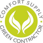 J&J heating and cooling in Tennessee and Alabama is a Comfort Supply Green Contractor