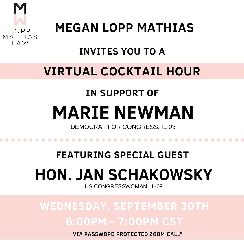 Virtual Event with Marie Newman