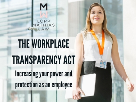 The Workplace Transparency Act