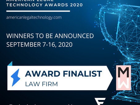 Lopp Mathias Law is Announced Award Finalist in the 1st Annual American Legal Technology Awards