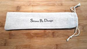 Linen bag with company logo