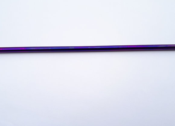 Purple Stainless Steel Straw