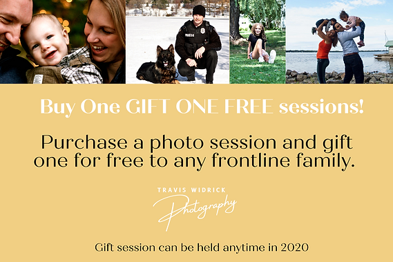 Purchase a photo session and gift one to