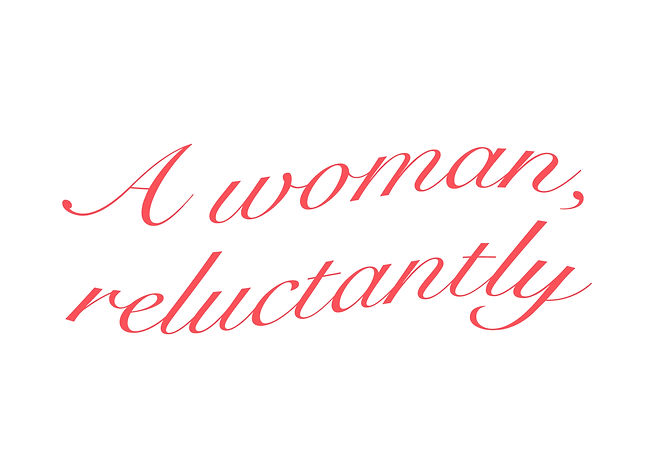 A woman reluctantly.jpg