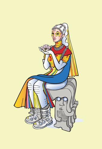 Dronningen av Pellapasana