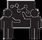 discussion-of-profits-black-concept-icon