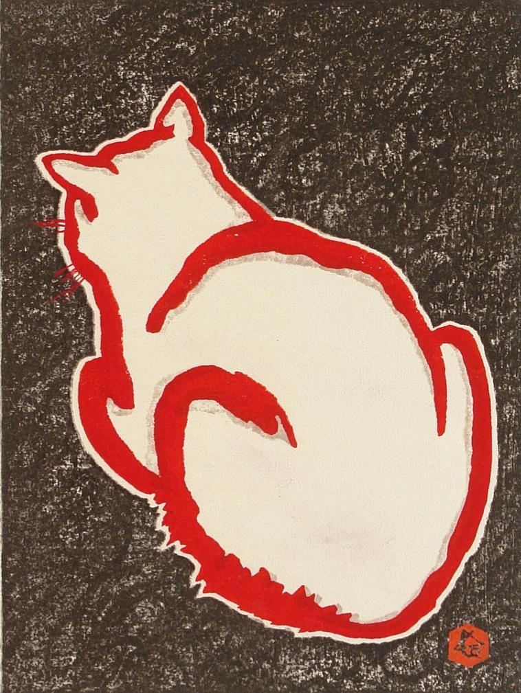 #3098 White Cat
