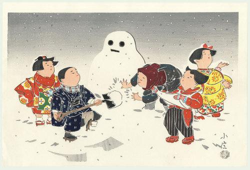 #3097 Snowman (Winter)