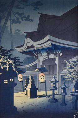 #3078 Night Scene of Kitano shrine