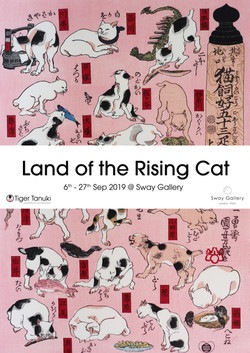 Land of the Rising Cat, Sway Gallery, London