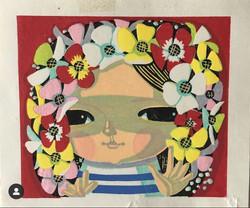 #4022 Flower child