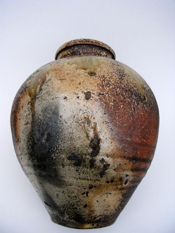 #1003 Shigaraki ware jar