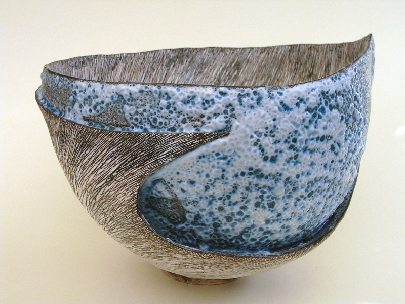 #1011 SOLD Sculptural bowl