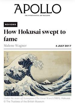 Hokusai review, Apollo Magazine