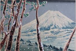 #3041 Winter (Four Seasons of Fuji)