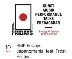 Talk at SMK Fridays: Japanomania