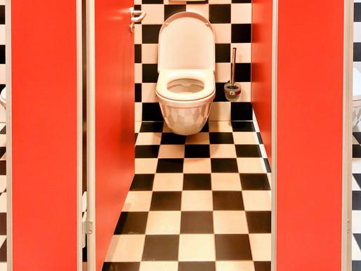 Motorway Toilet Art