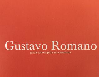 Gustavo Romano- sound piece to be walked